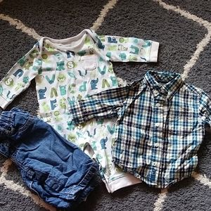 3-6 months baby boy clothes
